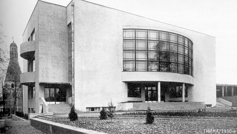 Первая постройка. Дворец культуры автозавода им. Сталина. Фото 1930.