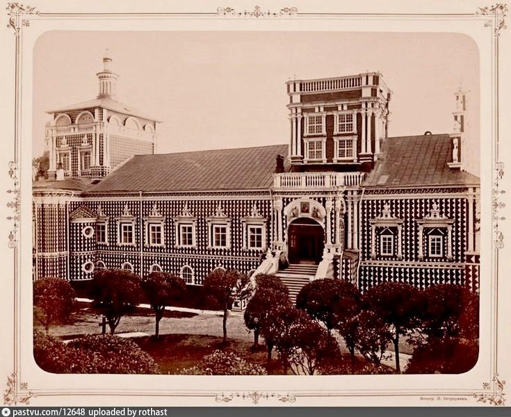 Храм Тихвинской иконы Божией Матери с Трапезной. Фото 1893.