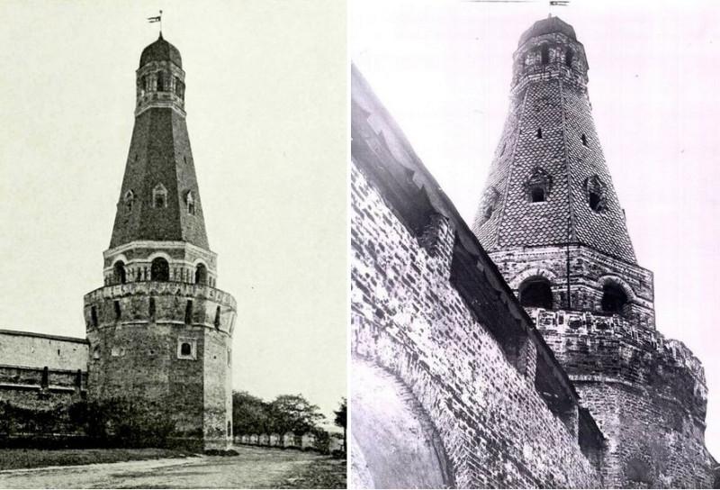 Тайницкая башня. 1630-1640.  Фото 1910-1914.