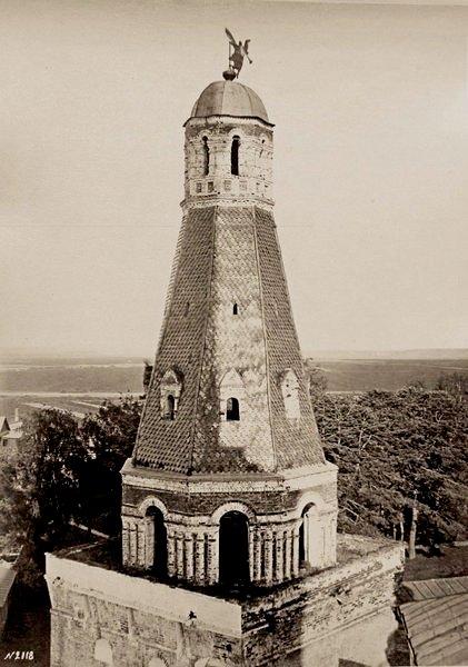 Сторожевая  башня. 1630-1640.