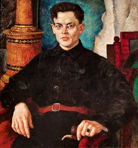 Илья Машков. Портрет Николая Скаткина. 1921-1923. Холст, масло. ГТГ.