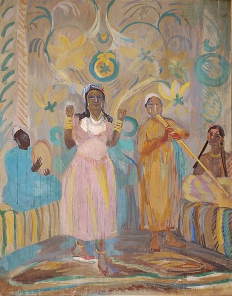Мартирос Сарьян. Арабская танцовщица. 1913. Холст, темпера. Дом-музей Мартироса Сарьяна, Ереван.
