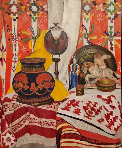 Александр Гауш. Натюрморт (Русский классицизм). 1911-1915. Холст, масло. Русский музей.