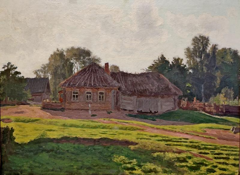 Николай Крымов. К вечеру. 1923. Холст, масло. Тульское музейное объединение.