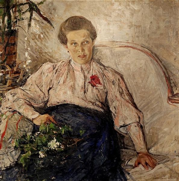 Н.И.Фешин. Портрет М.Т.Тепловой. 1906. Холст, масло. Чувашский государственный художественный музей.