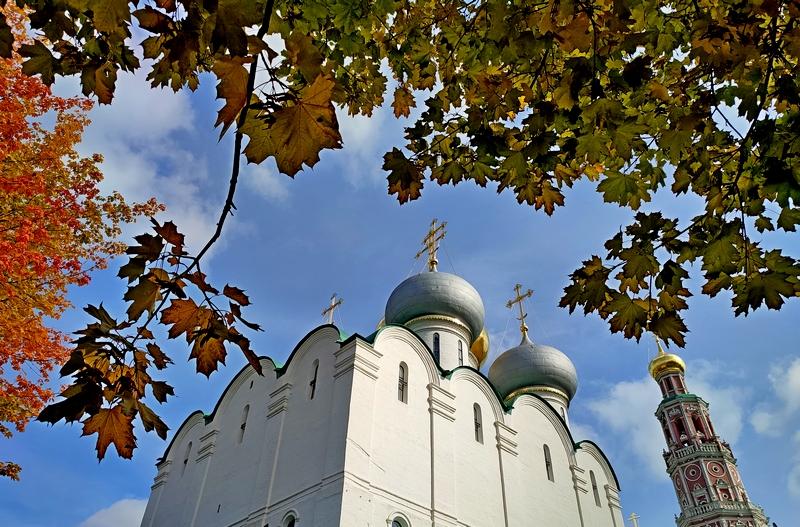 Новодевичий монастырь. Смоленский собор.
