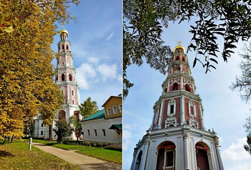 Новодевичий монастырь. Колокольня.