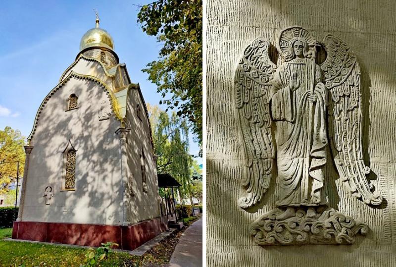 Новодевичий монастырь. Часовня-усыпальница семьи Прохоровых.