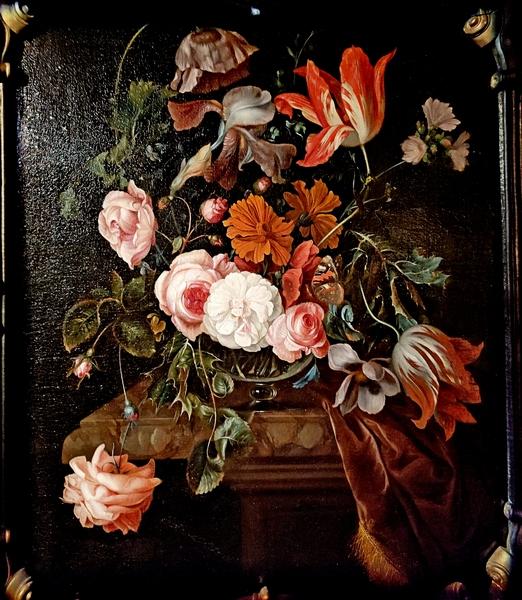 Эрнст Стувен (1657-1712). Цветочный натюрморт. Конец XVII в.