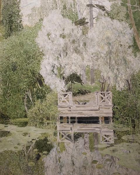А.Головин. Ветлы (Серебряные ветлы). 1909. Ярославский художественный музей.