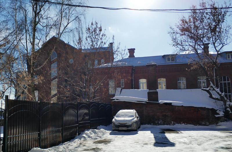 Бывшая лютеранская больница – Институт мозга. Фото 2019 г.