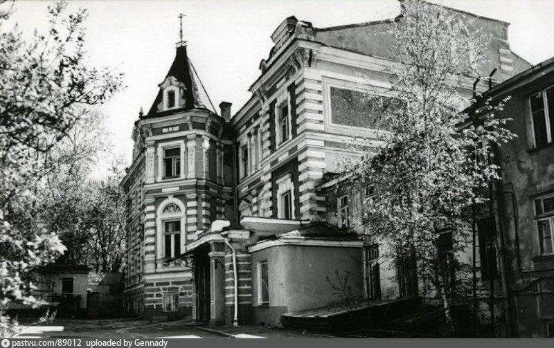 Бывший особняк С.К. Марк. Фото 1980 г.