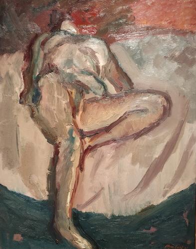 Дэвид Бомберг. Обнаженная. 1943. Холст, масло. Галерея Тейт.