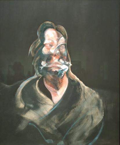 Фрэнсис Бэкон. Портрет Изабель Росторн. 1966. Холст, масло. Галерея Тейт.