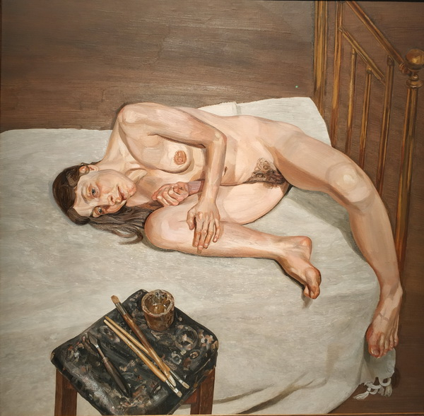 Люсьен Фрейд. Обнаженный портрет. 1972-1973. Холст, масло. Галерея Тейт.