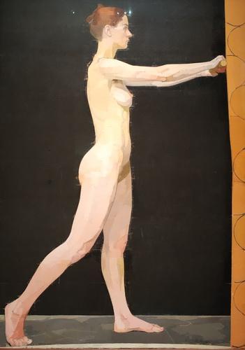 Юэн Аглоу. Заги. 1981-1982. Холст, масло. Галерея Тейт.