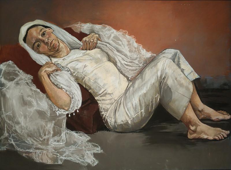 Паула Регу. Невеста. 1994. Бумага, пастель. Галерея Тейт.