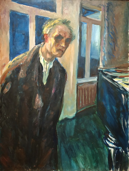 Эдвард Мунк. Полуночник. 1923-24. Холст, масло. Музей Мунка, Осло.