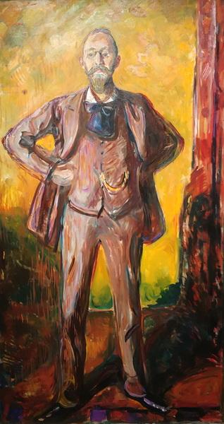 Эдвард Мунк. Даниэль Якобсон. 1908-09. Холст, масло. Музей Мунка, Осло.