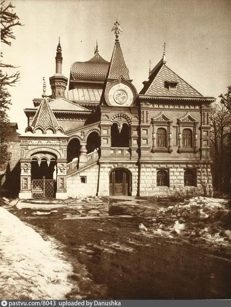 Особняк Петра Щукина в «русском стиле» на Малой Грузинской улице.