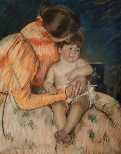 Мэри Кассет. Мать и дитя. Начало 20 в.