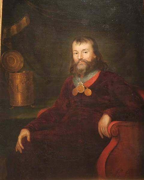 Неизвестный художник начала 19 века. Портрет купца Василия Алексеевича Злобина.