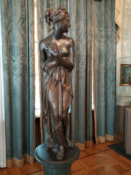 Венера италийская. Западная Европа. Первая четверть 19 века. Шпиатр, литье, патирование.