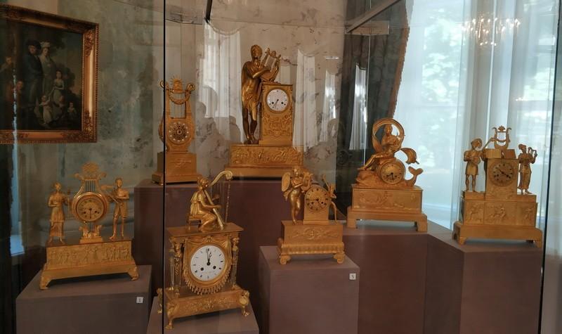 Часы каминные. Россия, Западная Европа. Первая половина 19 века.