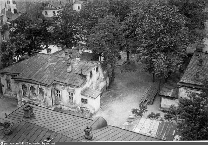 Бывшая усадьба Олив. Фото 1930.