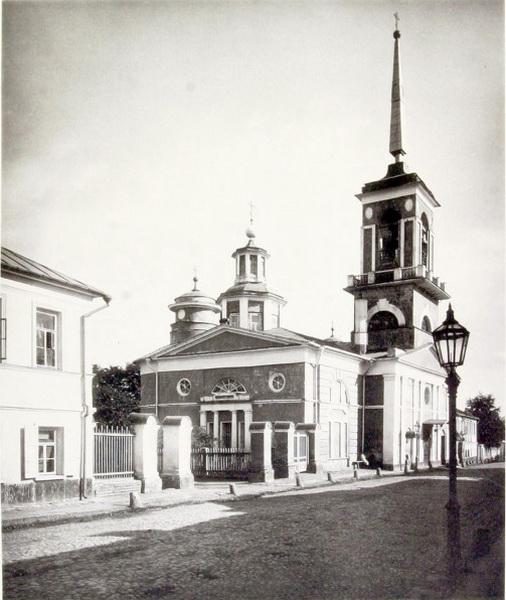 Церковь Николая Чудотворца, что на Песках. Альбом Найденова. Фото 1881 г.