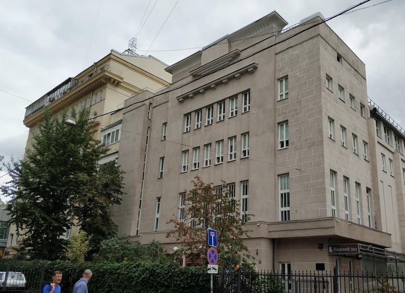 Театральный институт имени Бориса Щукина. 1936 г., арх. Н.А. Круглов.