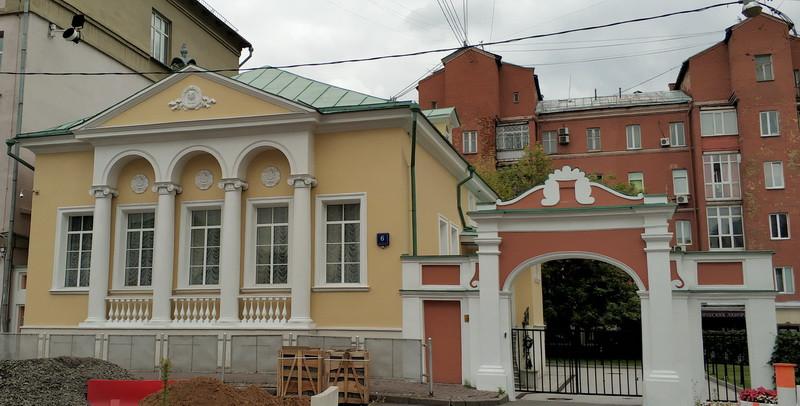 Дом А. Г. Щепочкиной. 1820 г. Новодел 2000 года.