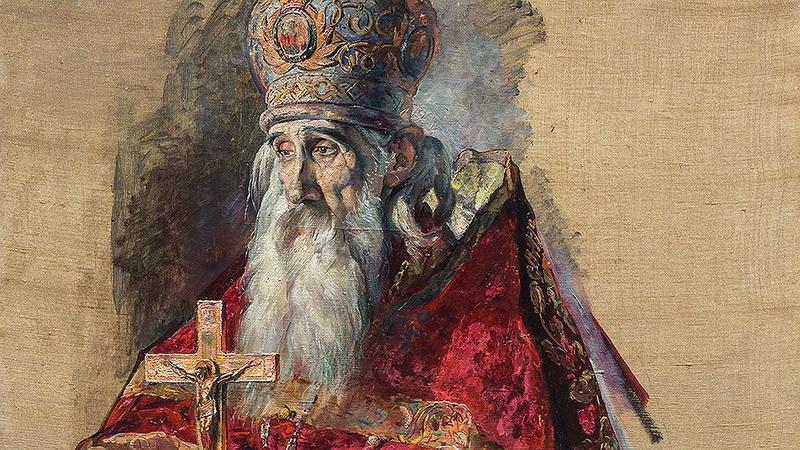 Павел Корин. Отец Сергий Успенский-Старший. 1929 г.