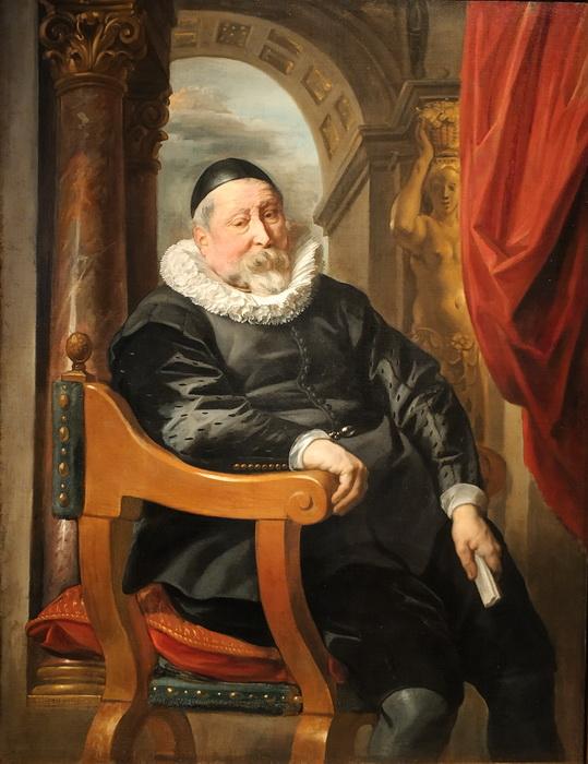 Якоб  Йорданс. Портрет старика. 1637. Холст, масло. ГЭ.