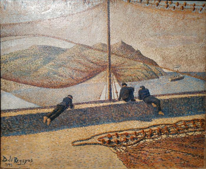 Дарио де Регойос. Сети. 1893. Холст, масло. Частное собрание, Мадрид.