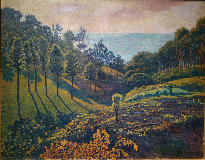Дарио де Регойос. Сосновый лес в Улии. 1905. Холст, масло. Собрание Хуана Сан-Николаса, Мадрид.