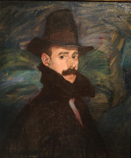Игнасио Сулоага. Автопортрет. 1908. Холст, масло. ГМИИ им. А.С.Пушкина.
