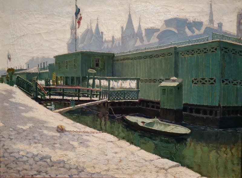 Мариан Пиделасерра. Зеленые купальни (Утреннее солнце). Около 1900-1901. Холст, масло. Собрание Казакуберта Марсанс, Барселона.