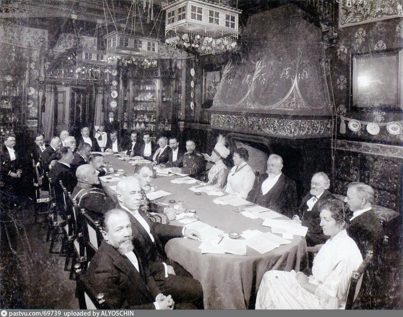 Акт передачи музея Российской Академии наук. 1913.