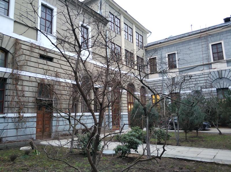 Внутренний дворик особняка Тарасова.