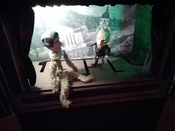 Музей театра, Вильнюс. Куклы. Снова куклы.