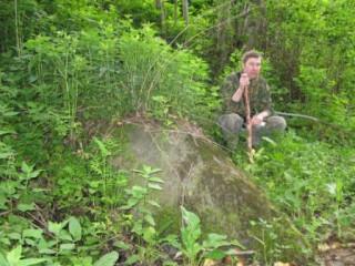 Камень до раскопа