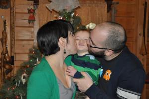Christmas kissy