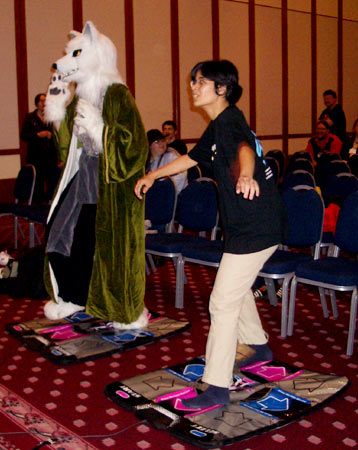 fox and ddr player