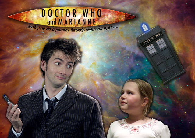 Doctor Who and Marianne invite you on a journey through time and space