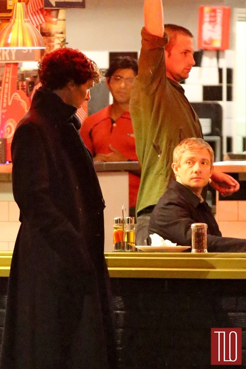 Benedict+Cumberbatch+On+The+Set+Sherlock+5