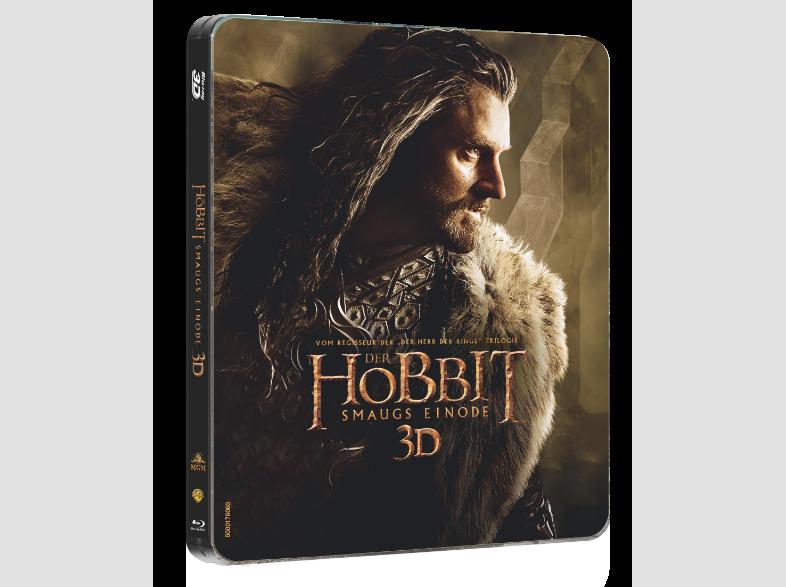 Der-Hobbit--Smaugs-Einöde-(Steelbook)-Fantasy-Blu-ray