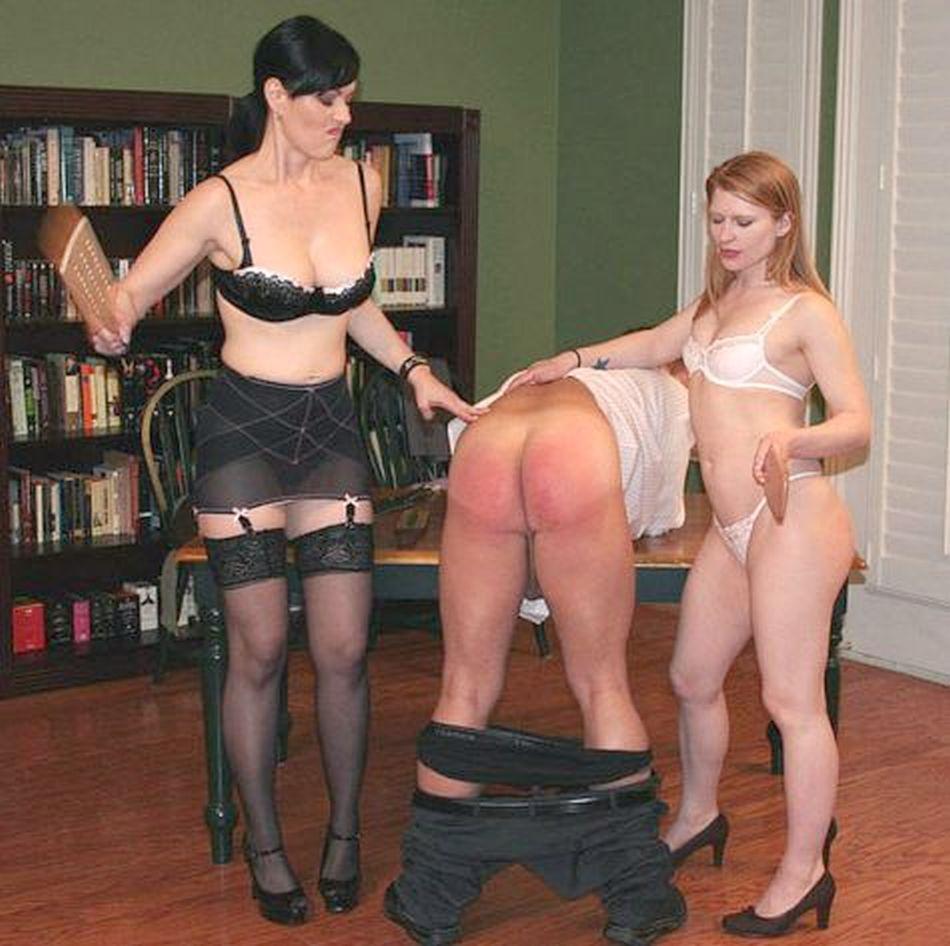 Femdom strict spankings