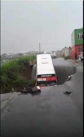 Мексика-Автобус-Провал