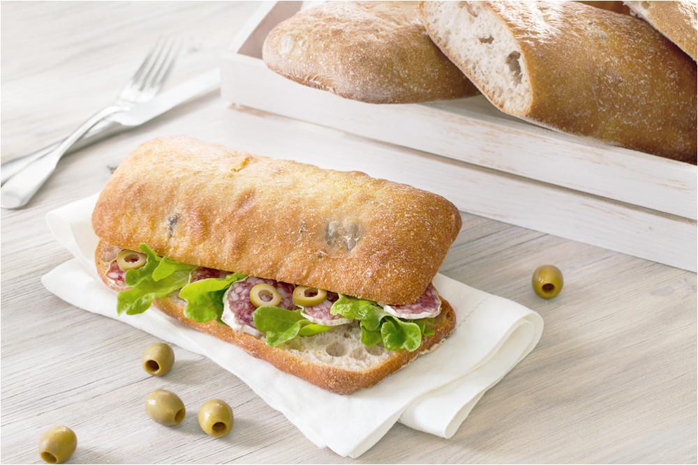 Сендвич на основе чиабатты